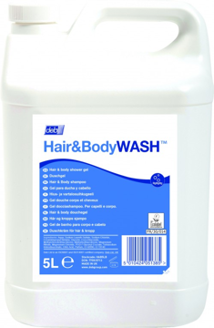 Deb Hair & Body Wash doos á 4 x 5 liter