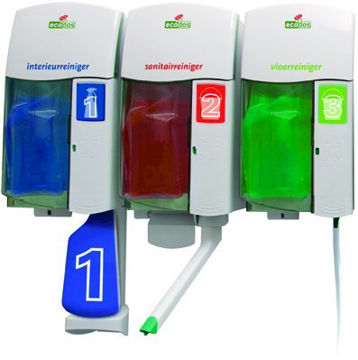 Ecodos dispenser / sprayflacon - bruikleen*