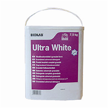 Ecolab Ultra White 7,5 kilo totaalwasproduct - www.ecolabproducten.nl