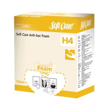 Soft Care Antibacterial Foam H4 6 x 700 ml