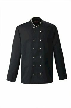 Chianti heren servicejas black and sand piping maat XXXL (68)