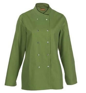 Cesena dames servicejas leaf and chocolate piping maat XXL (56)