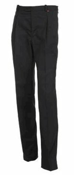 Urbino herenbroek stretch black maat 64