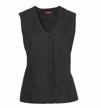 Alba damesgilet stretch black maat 44