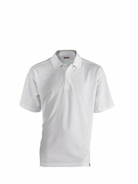 Leandro herenpolo white (regular fit) maat M