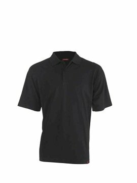 Leandro herenpolo black (regular fit) maat L