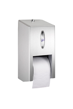 Lotus nextTurn compact toilet paper dispenser RVS groot (294015) BRUIKLEEN*