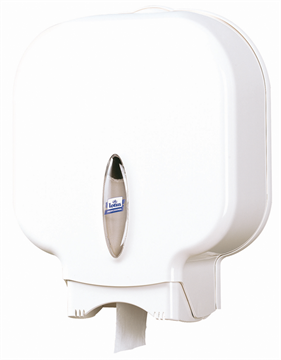 Lotus Maxi Jumbo toilet paper dispenser white (E02233)