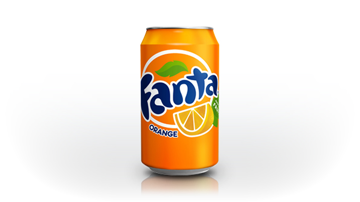 Fanta orange 24 blikjes á 33 cl
