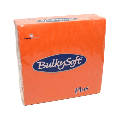 2-laags Point to Point servetten 38 x 38 1/4, pure cellulose, oranje (T32820) (met staffelkorting!)