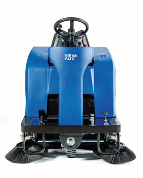 Nilfisk Alto Floortec R 670 P ride-on veegmachine batterij