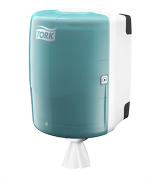 Tork Performance Dispenser Combi Roll White / Turquoise