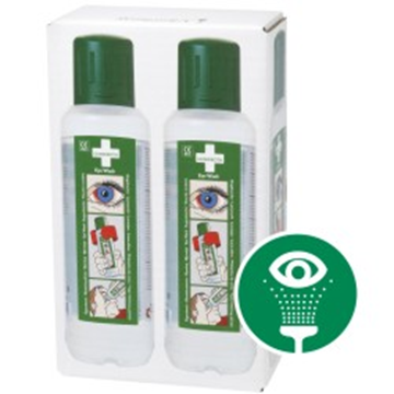 Cederroth Oogspoelfles 2 pack / 2 x 500 ml.