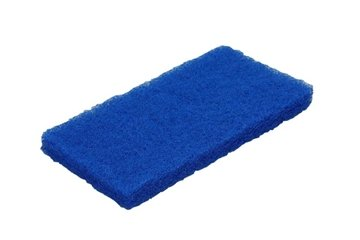 Vikan schuurpad nylon blauw medium (5524)