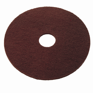 Maroon chemical Free Stripping Pad 15 inch / 10 stuks