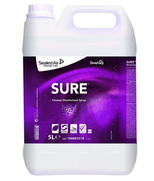 Afbeeldingen van Sure Cleaner Disinfectant Spray 5L / 100892516